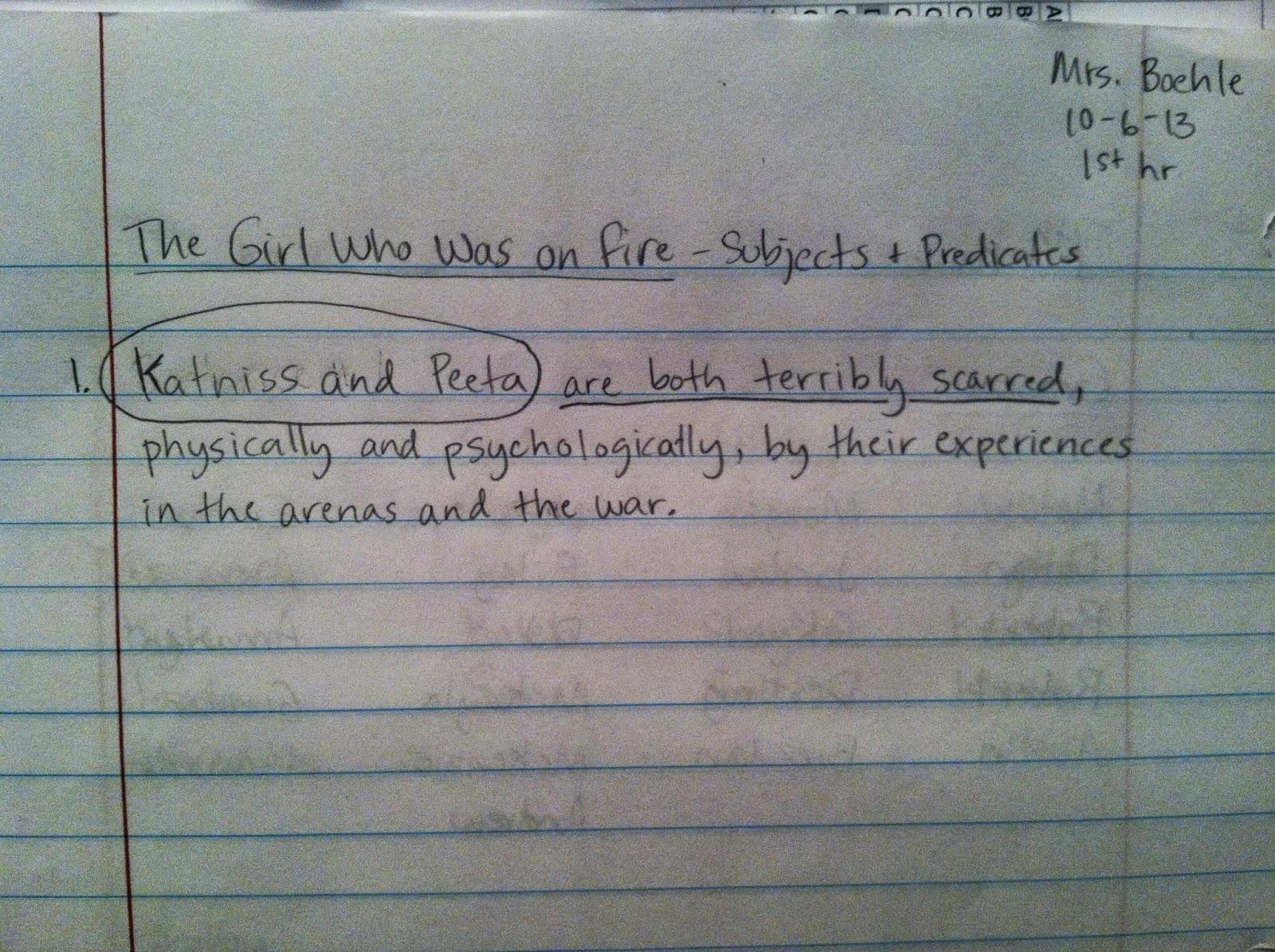 Predicate Adjective Worksheet 7th Grade